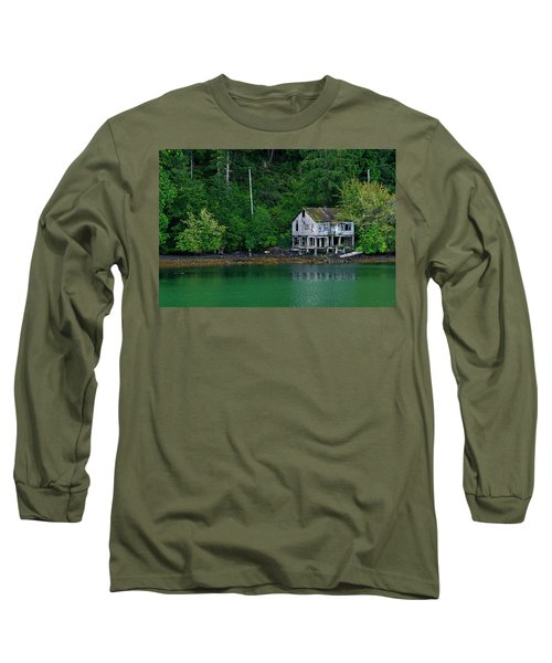 Abandoned Dreams Long Sleeve T-Shirt by Inge Riis McDonald