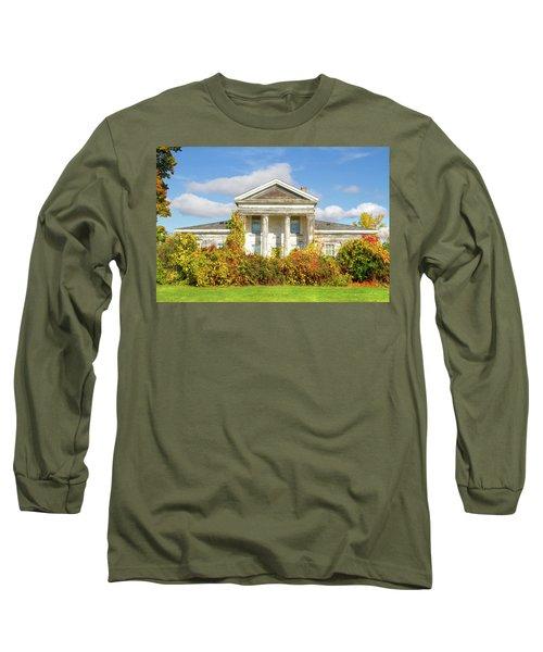 Abandoned Greek Revival Long Sleeve T-Shirt