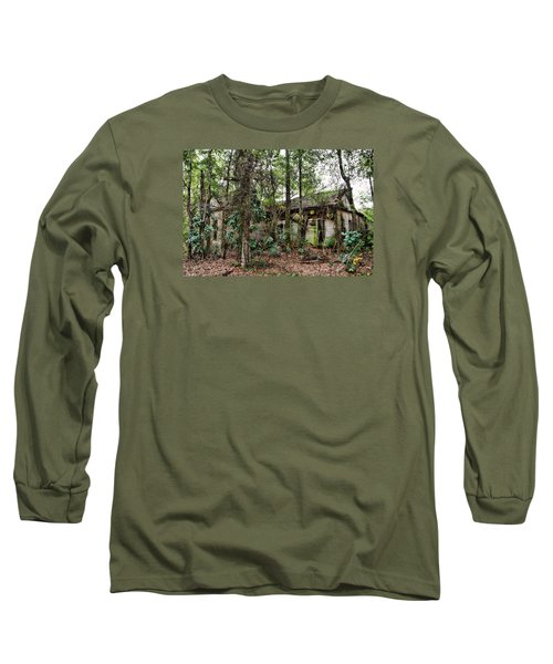 Abandoned House In Alabama Long Sleeve T-Shirt