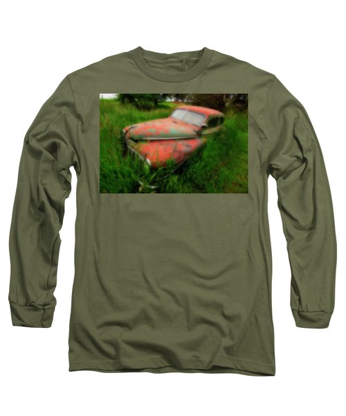 Abandoned In The Palouse Long Sleeve T-Shirt