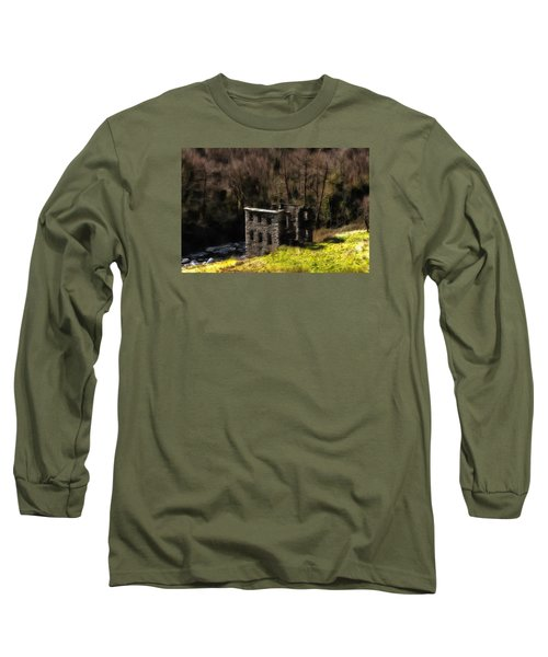 Abandoned Mill What Remains ... Long Sleeve T-Shirt