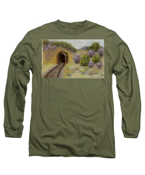 Abandoned Mine Long Sleeve T-Shirt by Laurie Morgan