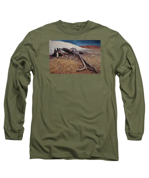 Long Sleeve T-Shirt featuring the photograph Abandoned Quarry by Vladimir Kholostykh