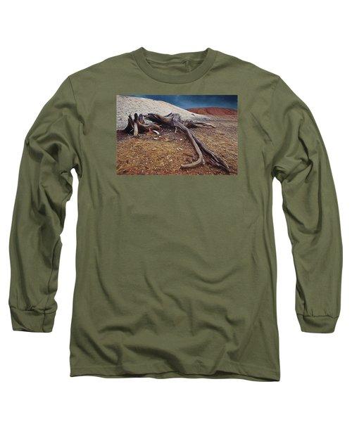 Abandoned Quarry Long Sleeve T-Shirt by Vladimir Kholostykh