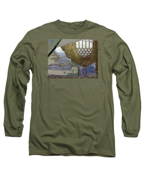 Abbey Ruins - Edinburgh Long Sleeve T-Shirt by Amy Fearn