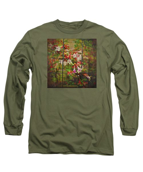 Abelia Coming Through Long Sleeve T-Shirt by Bellesouth Studio