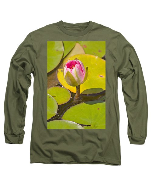 Long Sleeve T-Shirt featuring the photograph About To Bloom by Peter J Sucy