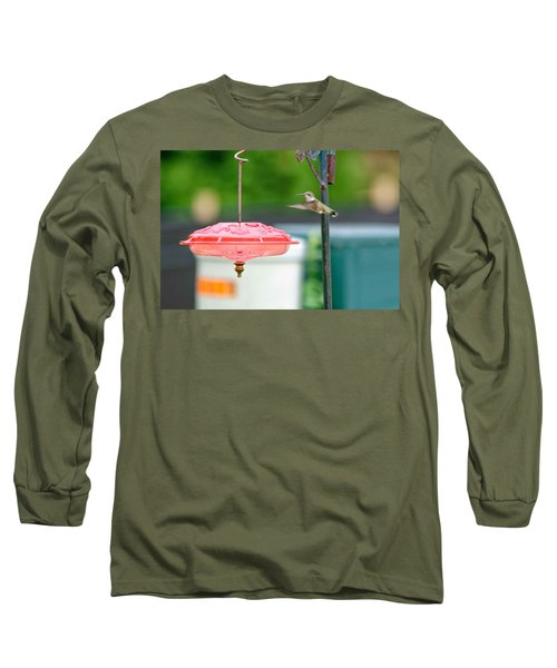 About To Land Long Sleeve T-Shirt