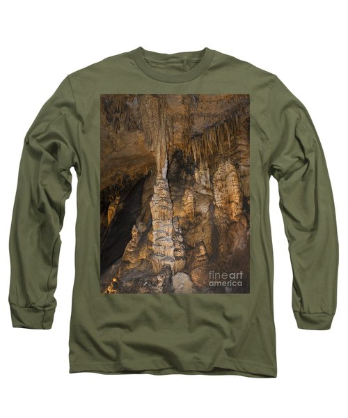 Above And Below In Luray Caverns Long Sleeve T-Shirt
