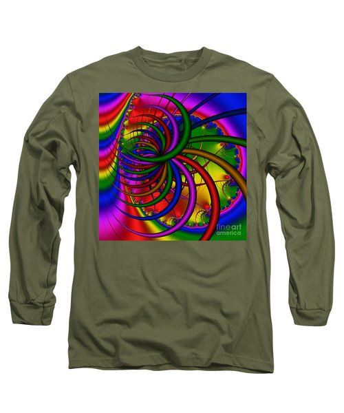 Abstract 523 Long Sleeve T-Shirt