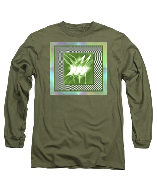 Abstract 54 Long Sleeve T-Shirt
