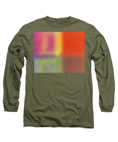 Abstract 5791 Long Sleeve T-Shirt