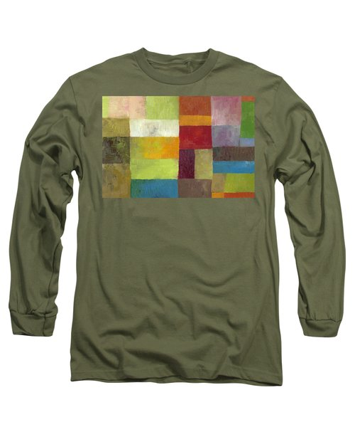 Abstract Color Study Lv Long Sleeve T-Shirt