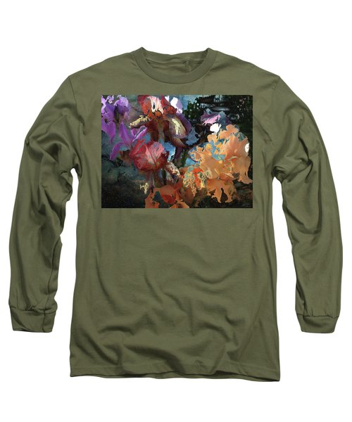Abstract Flowers Of Light Series #15 Long Sleeve T-Shirt