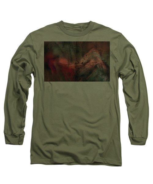 Abstract Nude 4 Long Sleeve T-Shirt by Jim Vance