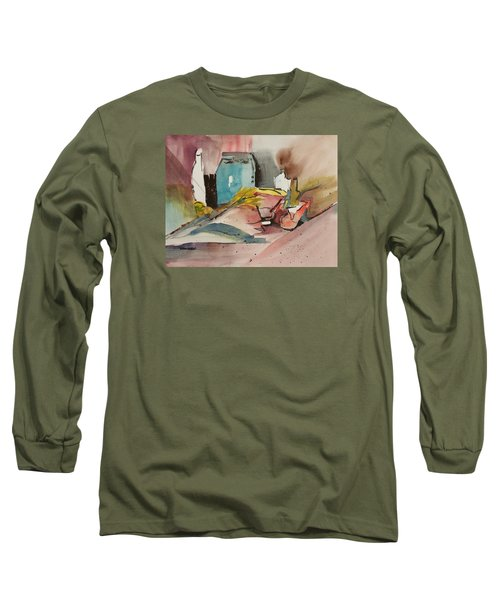 Abstract Opus 3 Long Sleeve T-Shirt by Larry Hamilton