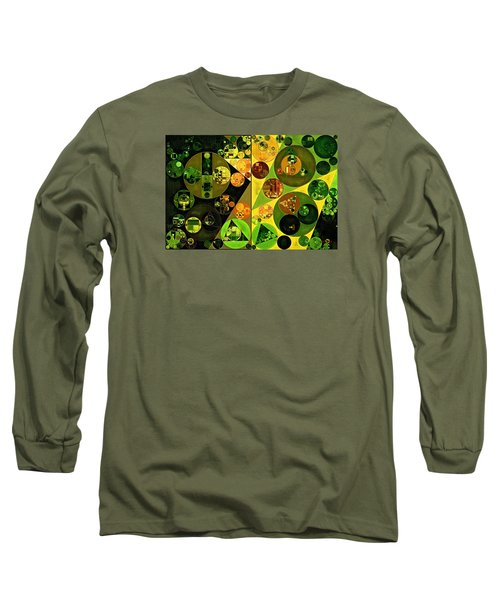 Abstract Painting - Barberry Long Sleeve T-Shirt
