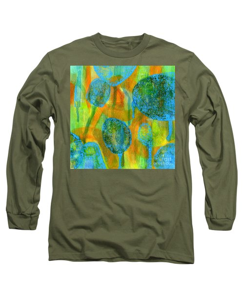 Abstract Painting No. 1 Long Sleeve T-Shirt
