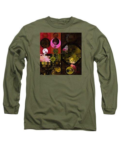 Abstract Painting - Tonys Pink Long Sleeve T-Shirt