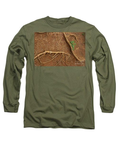 Abstract Roots Long Sleeve T-Shirt