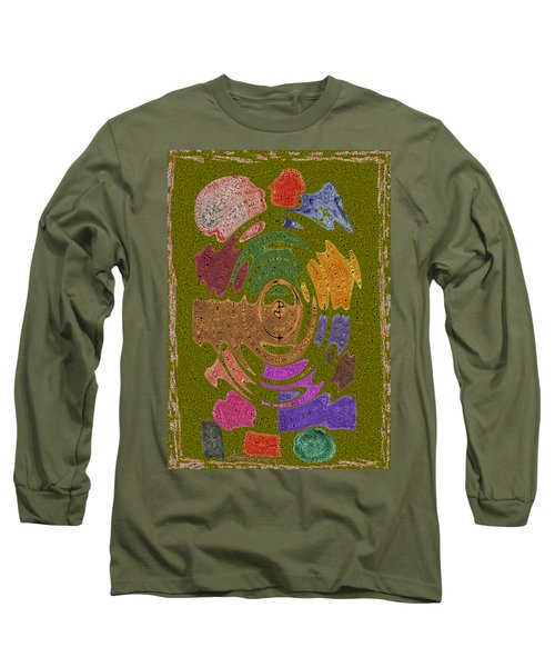 Abstract Shapes Long Sleeve T-Shirt by Joseph Baril