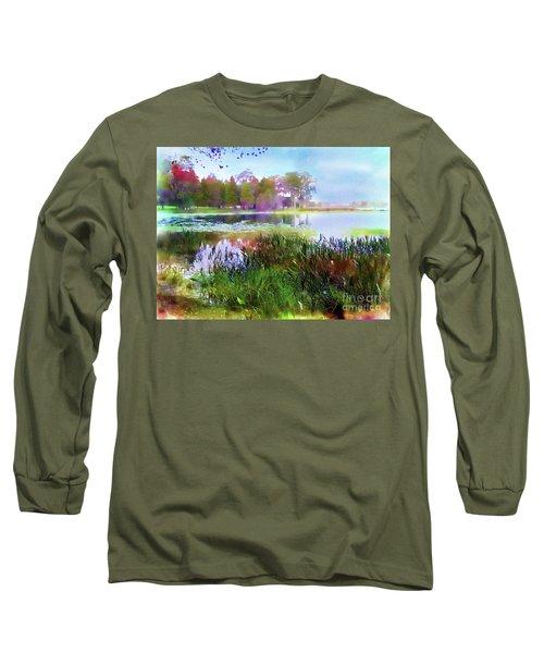 Across The Pond Long Sleeve T-Shirt