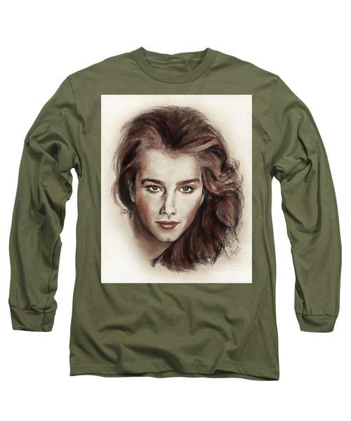 Actress And Model Brooke Shields Long Sleeve T-Shirt