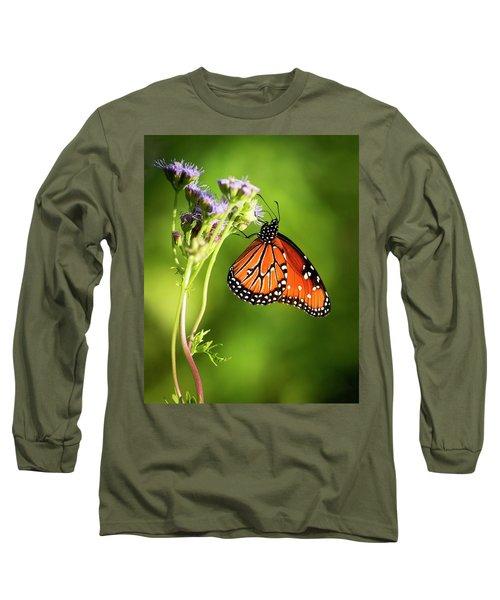 Addicted Queen Butterfly Long Sleeve T-Shirt