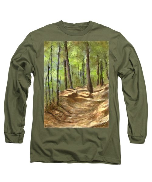Adirondack Hiking Trails Long Sleeve T-Shirt