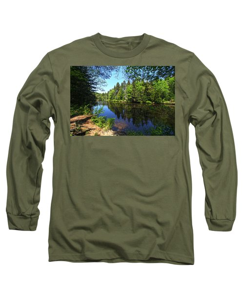 Adirondack Waters Long Sleeve T-Shirt