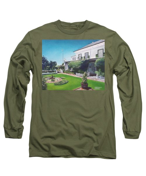 Admiralty House Long Sleeve T-Shirt by Tim Johnson