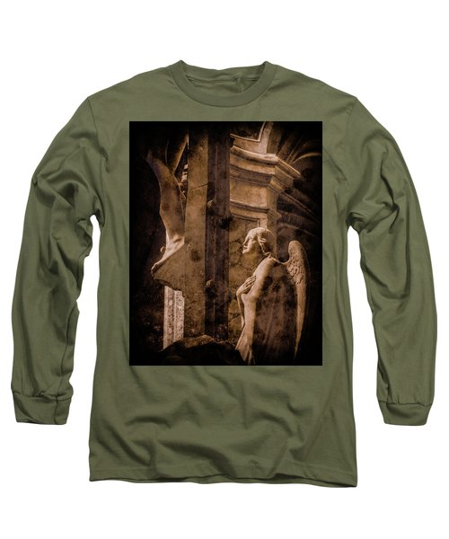 Paris, France - Adoring Angel Long Sleeve T-Shirt