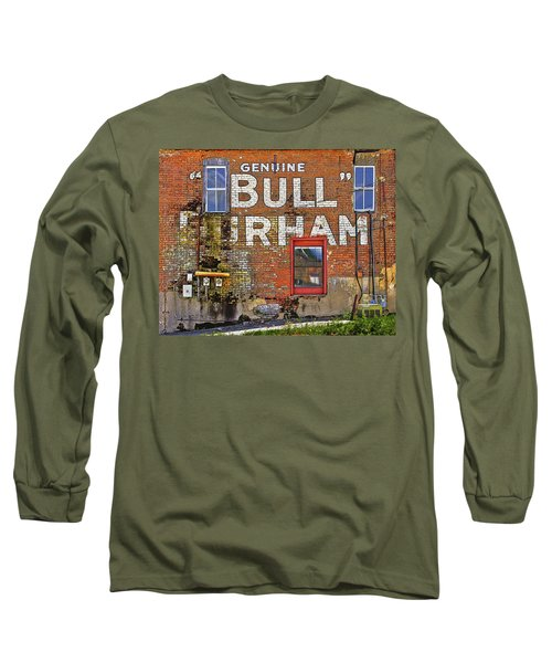 Advertising Of The Past Long Sleeve T-Shirt by David and Carol Kelly