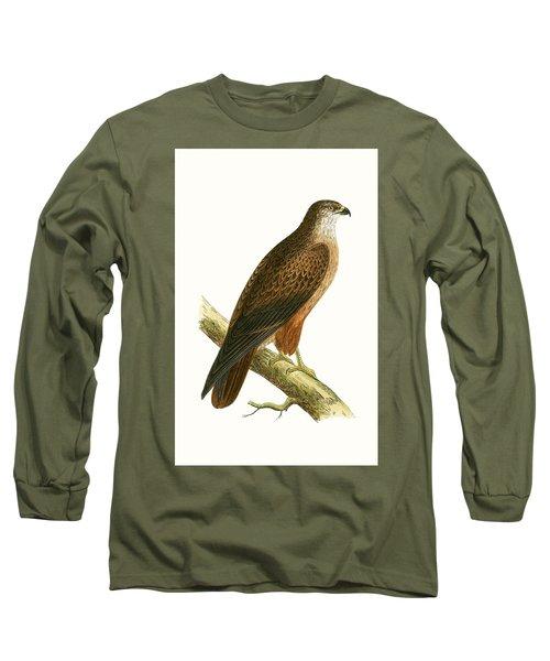 African Buzzard Long Sleeve T-Shirt by English School