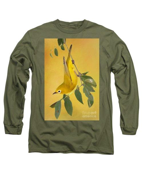 African Yellow White-eye Long Sleeve T-Shirt