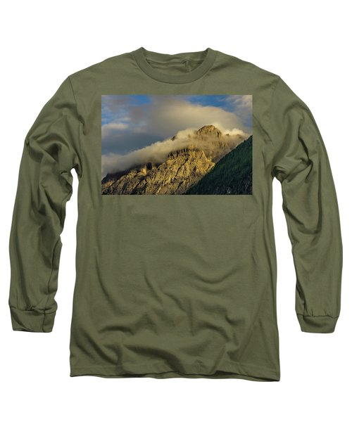 After The Rain In The Austrian Alps. Long Sleeve T-Shirt