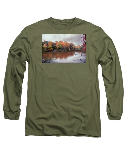Long Sleeve T-Shirt featuring the photograph Afternoon Rain by John Rivera