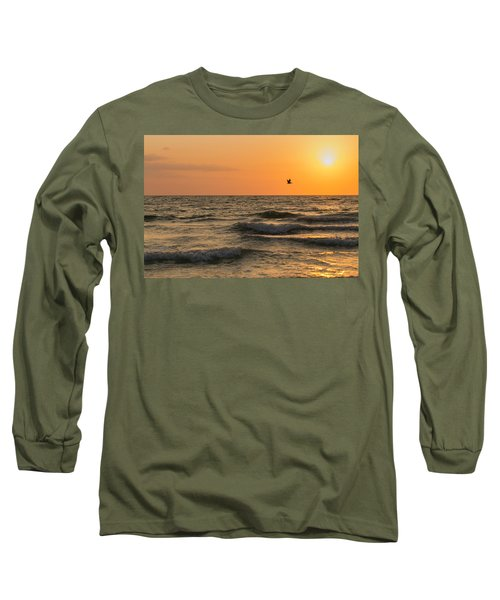Against The Wind Long Sleeve T-Shirt by Christopher L Thomley