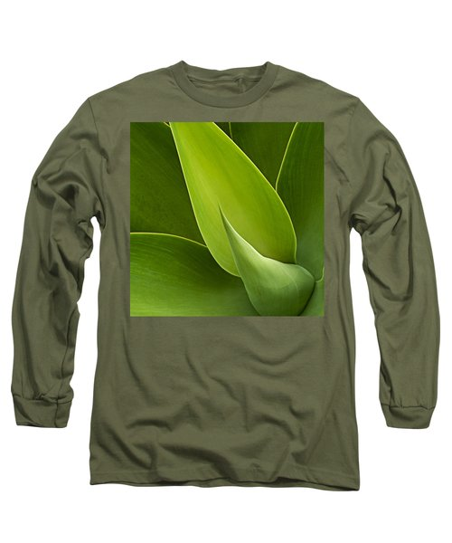 Agave Long Sleeve T-Shirt by Heiko Koehrer-Wagner