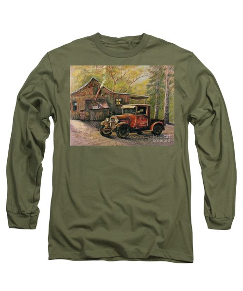Agent's Visit Long Sleeve T-Shirt
