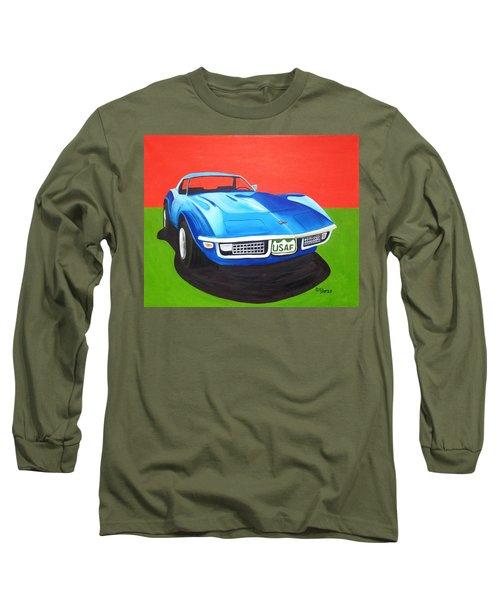 Air Force Vette Long Sleeve T-Shirt