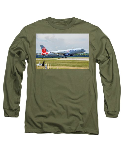 Airbus A320 Boston Strong Long Sleeve T-Shirt