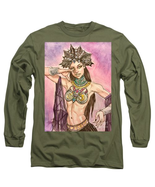 Akasha  Long Sleeve T-Shirt by Jimmy Adams