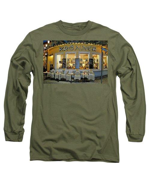 Al Fresco Dining Bavarian Style Long Sleeve T-Shirt