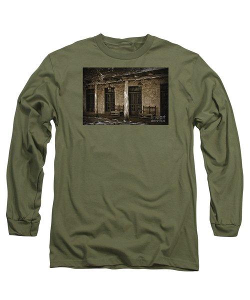 Alamo Adobe Long Sleeve T-Shirt by Kirt Tisdale
