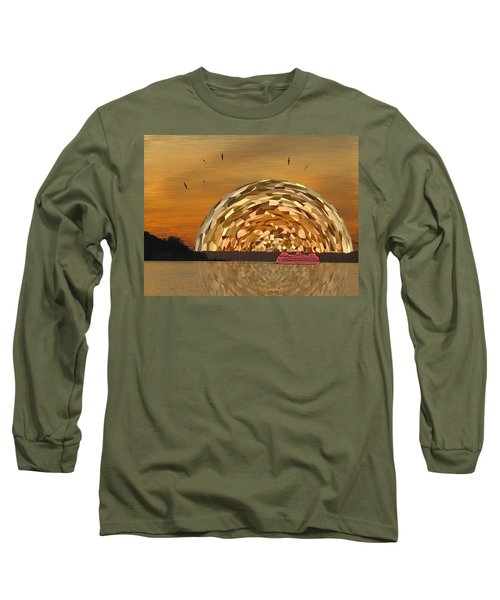 Albatross Setting Long Sleeve T-Shirt