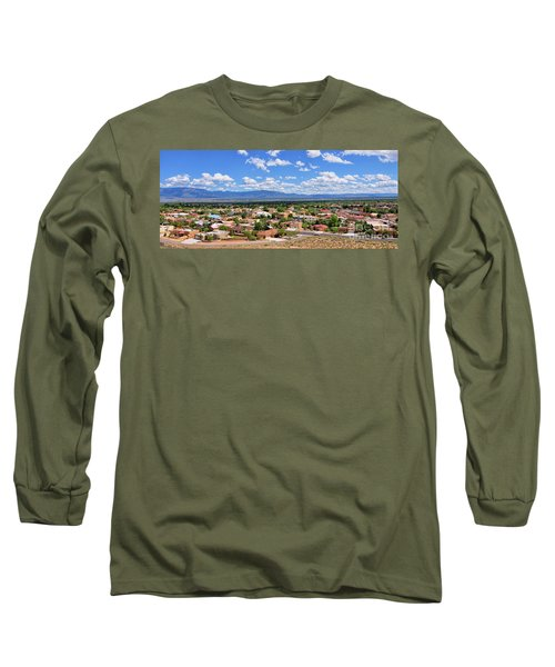 Long Sleeve T-Shirt featuring the photograph Albuquerque West Side by Gina Savage