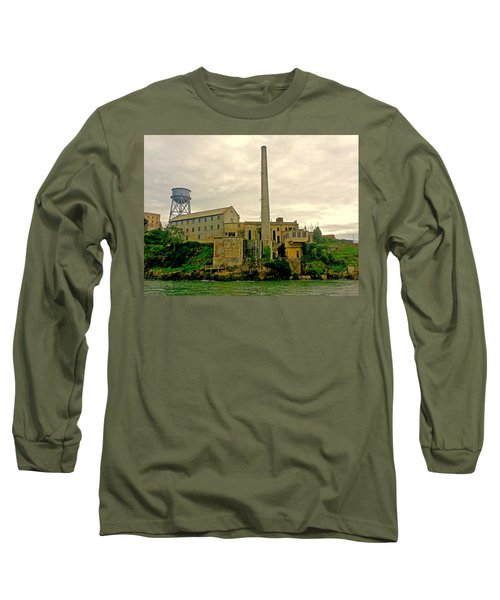 Alcatraz From The West Long Sleeve T-Shirt