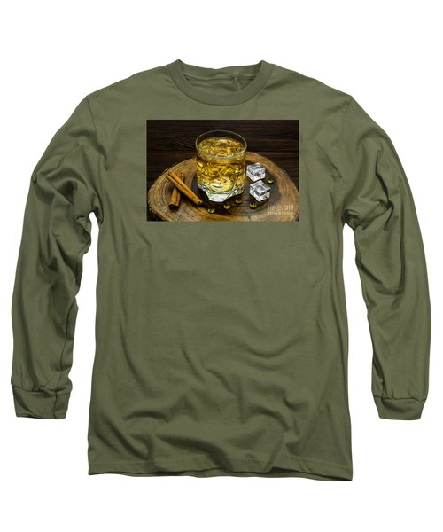 Alcoholic Beverage With Cinnamon And Ice Long Sleeve T-Shirt