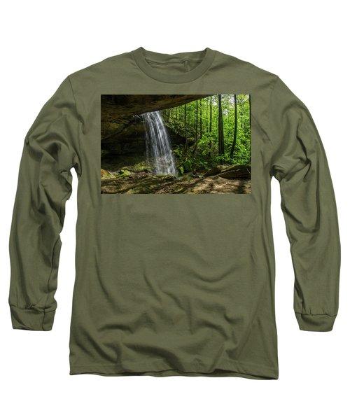 Alcorn Falls Long Sleeve T-Shirt by Ulrich Burkhalter